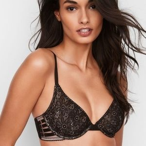 2/$33❤️ VS Very Sexy Unlined Plunge Push-Up Bra